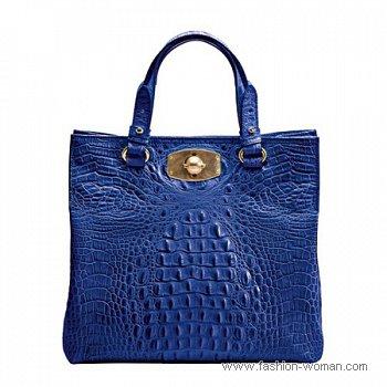 сумка из крокодиловой кожи Furla