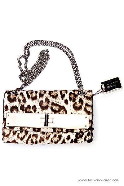 Модная сумка с леопардовым принтом от Barbara Bui