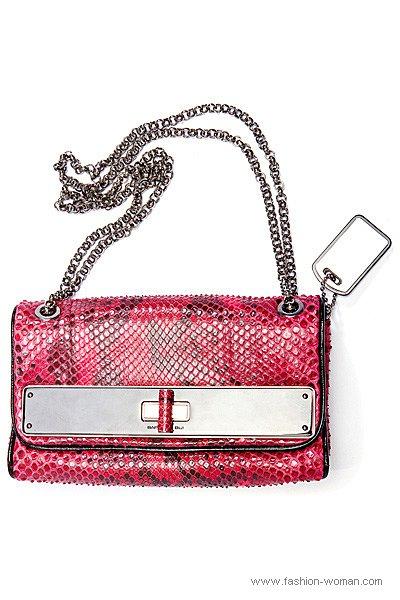 Модная сумка на цепочке от Barbara Bui