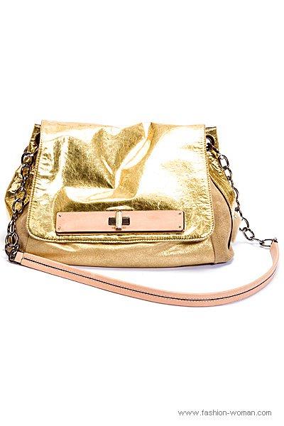 Золотистая сумка от Barbara Bui весна-лето 2011