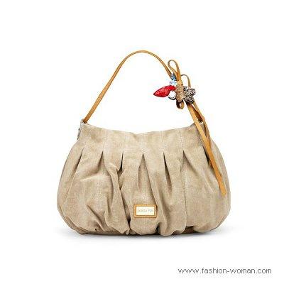 Модная замшевая сумка 2011