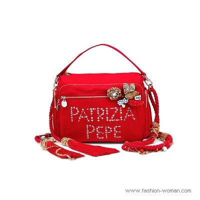ярко красная сумка весна-лето 2011