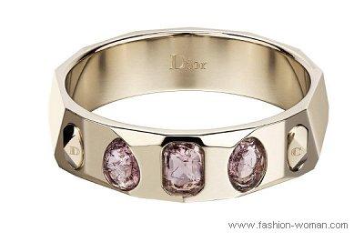 модные ювелирные украшения из золота от Christian Dior