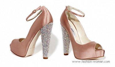 шелковые туфли от Brian Atwood