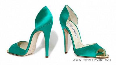 модная вечерняя обувь 2011