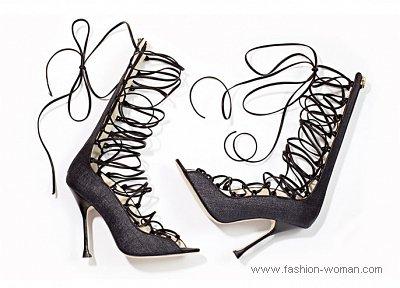 туфли на шнуровке от Brian Atwood