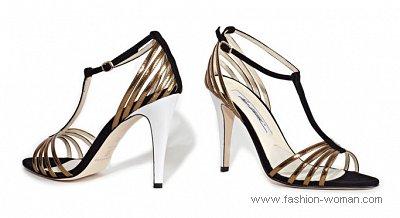 блестящая вечерняя обувь 2011