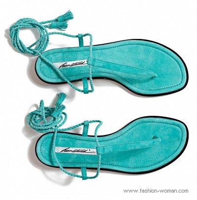 модная летняя обувь 2011