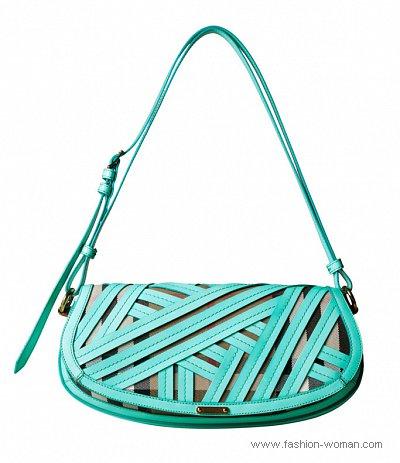 модная сумка лето 2011 от Burberry Prorsum