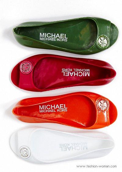 модная обувь от Michael Kors весна-лето 2011