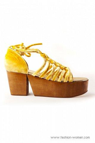 Модная обувь от Шанель весна-лето 2011