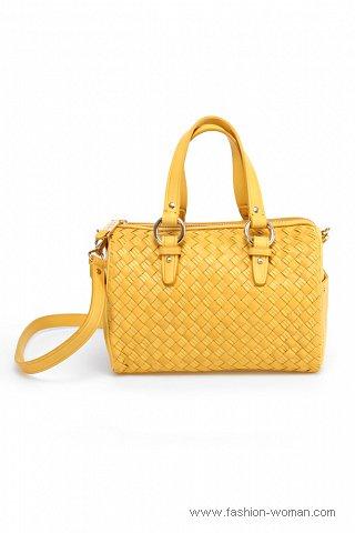 Модная желтая сумка весна-лето 2011
