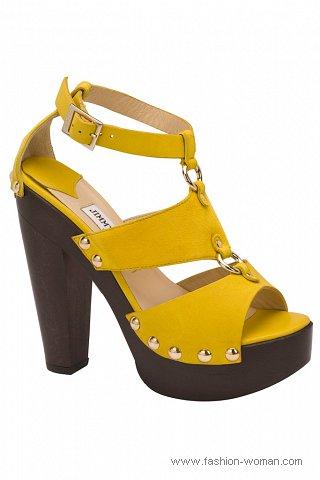 Модная женская обувь весна-лето 2011