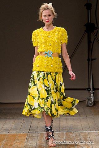 Модный стиль весна-лето 2011