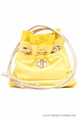 Модная сумка-мешок весна-лето 2011