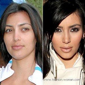 Знаменитости без макияжа выглядят не