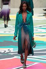 Мода Burberry Prorsum весна-лето 2015