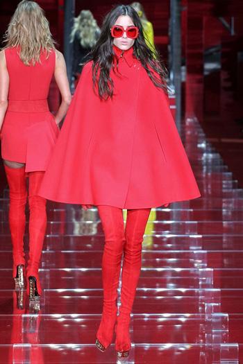 Versace осень-зима 2015-2016