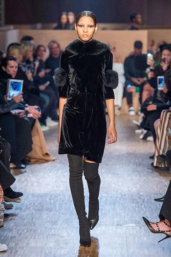 Givenchy осень-зима 2016-2017