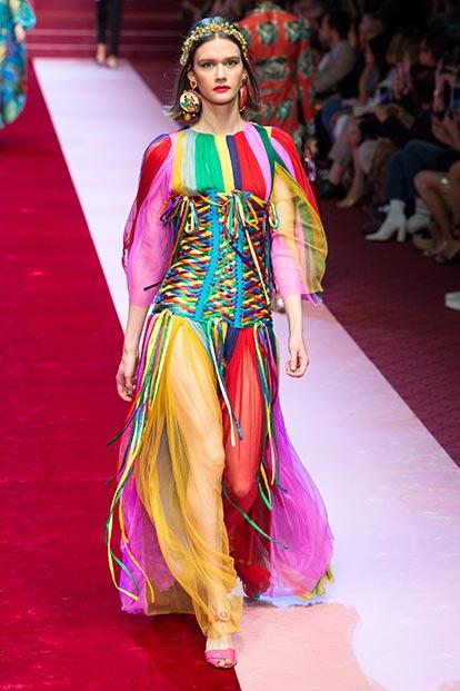 Коллекция Dolce & Gabbana 2018