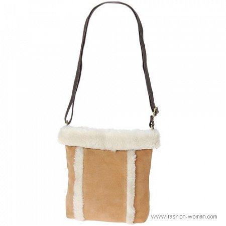 сумка с овчиной от ALDO