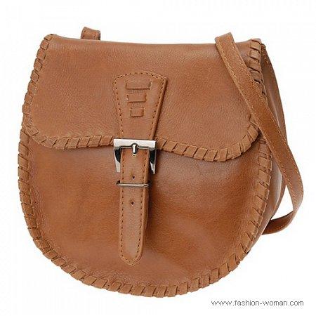 коричневая сумка от Алдо