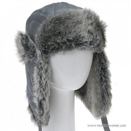 шапка-ушанка Алдо
