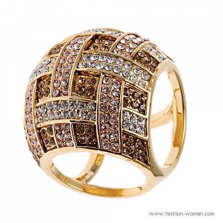 крупное кольцо Алдо