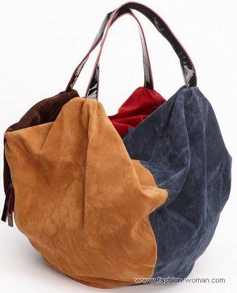цветная сумка от Parfois осень-зима 2010-2011