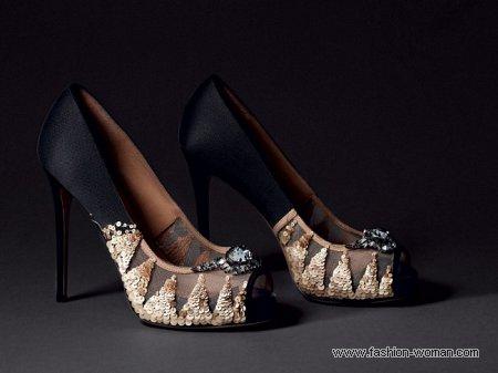 вечерние туфли от Valentino