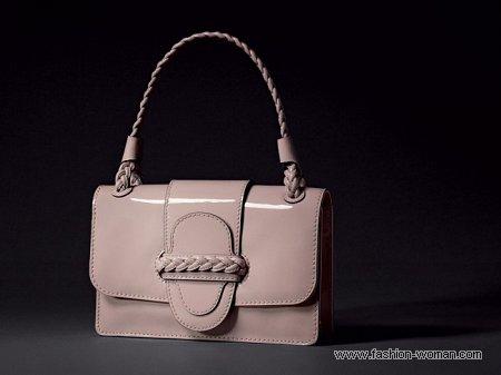 лаковая сумка от Valentino