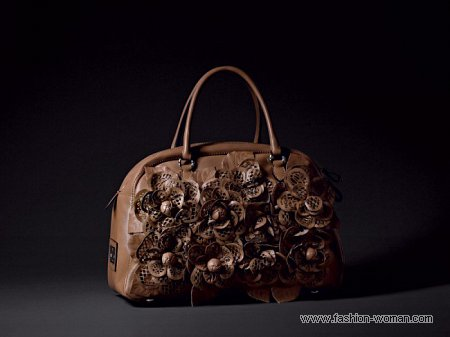 сумка с цветами Valentino