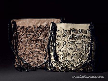 сумка с розами Valentino
