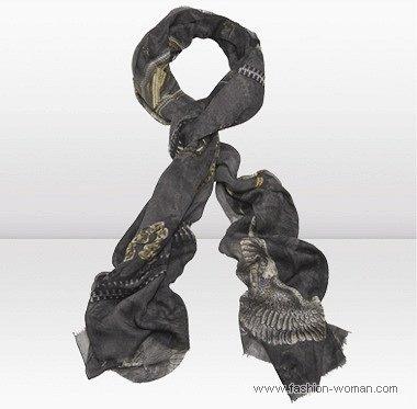шелковый шарф от jimmy-choo