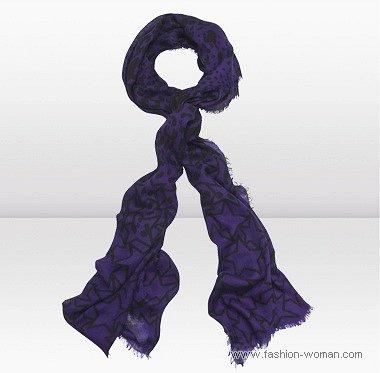 легкий шарф от Джимми Чу