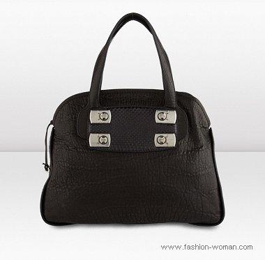 черная сумка от Джимми Чу осень-зима 2010-2011