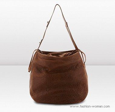коричневая сумка от Джимми Чу