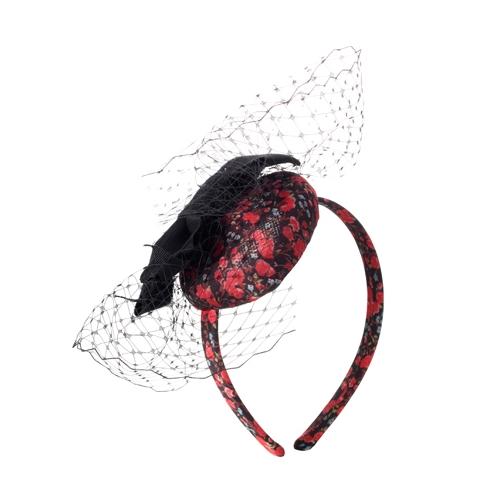 ободок со шляпкой