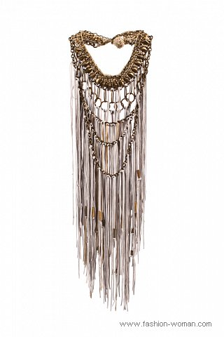 Ожерелье с бахромой от Roberto Cavalli
