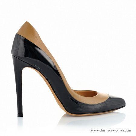 черно-бежевые туфли от Ballin