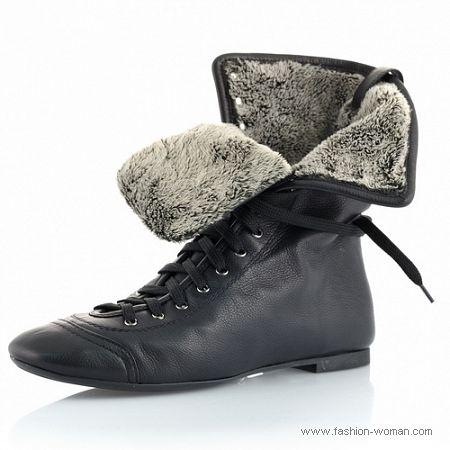 Купить Ботинки Зимние Женские