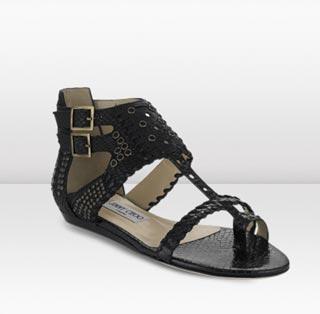 сандалии в греческом стиле от Jimmy Choo