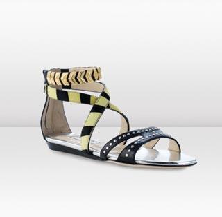 модные сандали от  Jimmy Choo