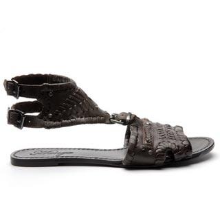 кожаные сандали от Mango