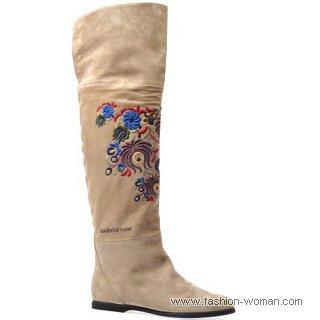 модные сапоги от Baldinini