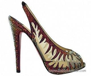 нарядные туфли от Christian Louboutin осень- зима 2010-2011