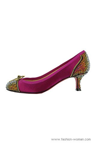 туфли на небольшом каблуке
