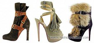 стильная обувь осень-зима 2010-2011
