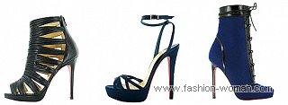 обувь на высоком каблуке от Christian Louboutin