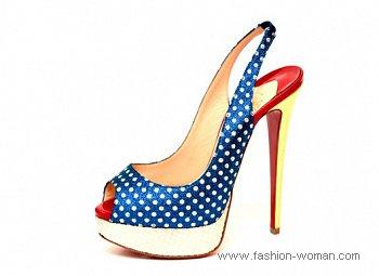 Модная обувь от Christian Louboutin весна-лето 2011